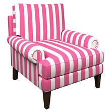 Alex Fuchsia Easton Chair