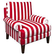 Alex Red Easton Chair