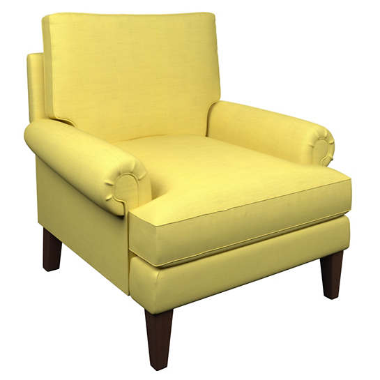 Estate Linen Citrus Easton Chair