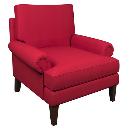 Estate Linen Red Easton Chair