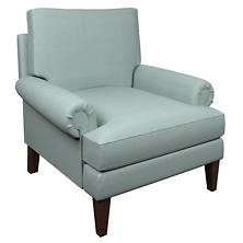 Estate Linen Sky Easton Chair