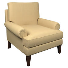 Estate Linen Wheat Easton Chair