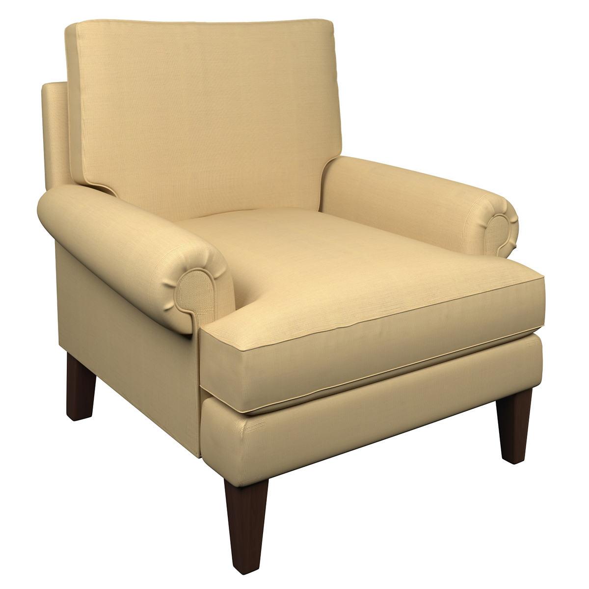 Estate Linen Wheat Easton Chair
