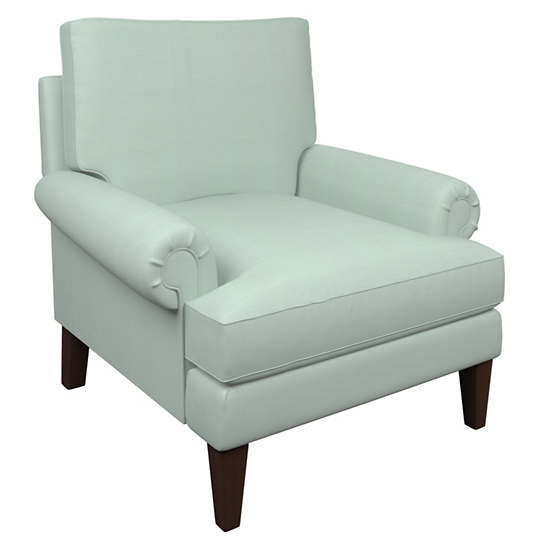 Estate Linen Powder Blue Easton Chair