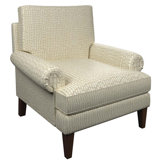 Pebble Ivory Easton Chair