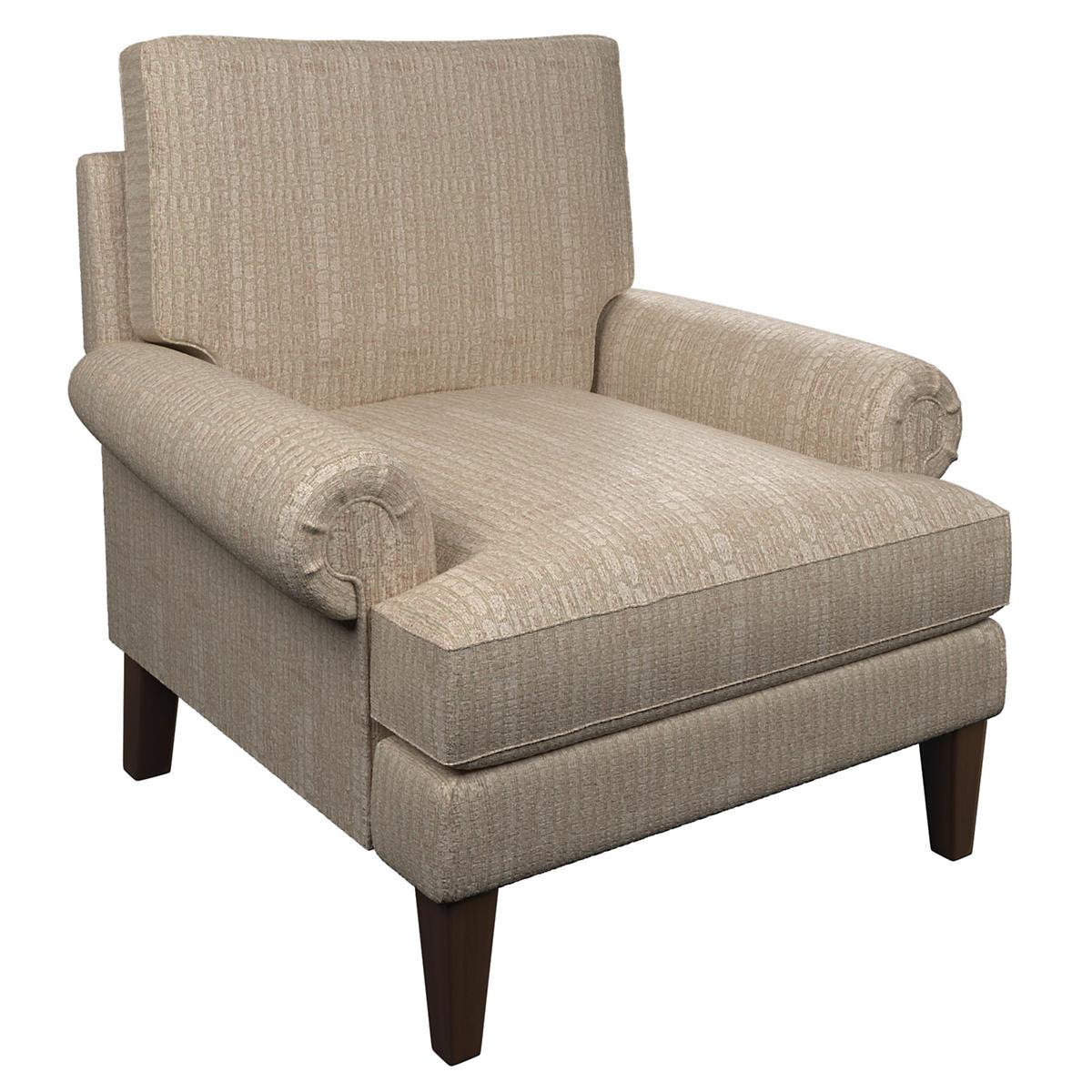 Pebble Slipper Pink Easton Chair