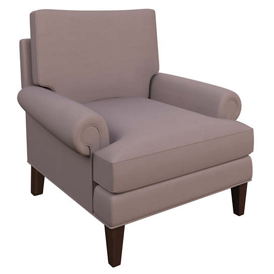 Weathered Linen Heather Easton Chair