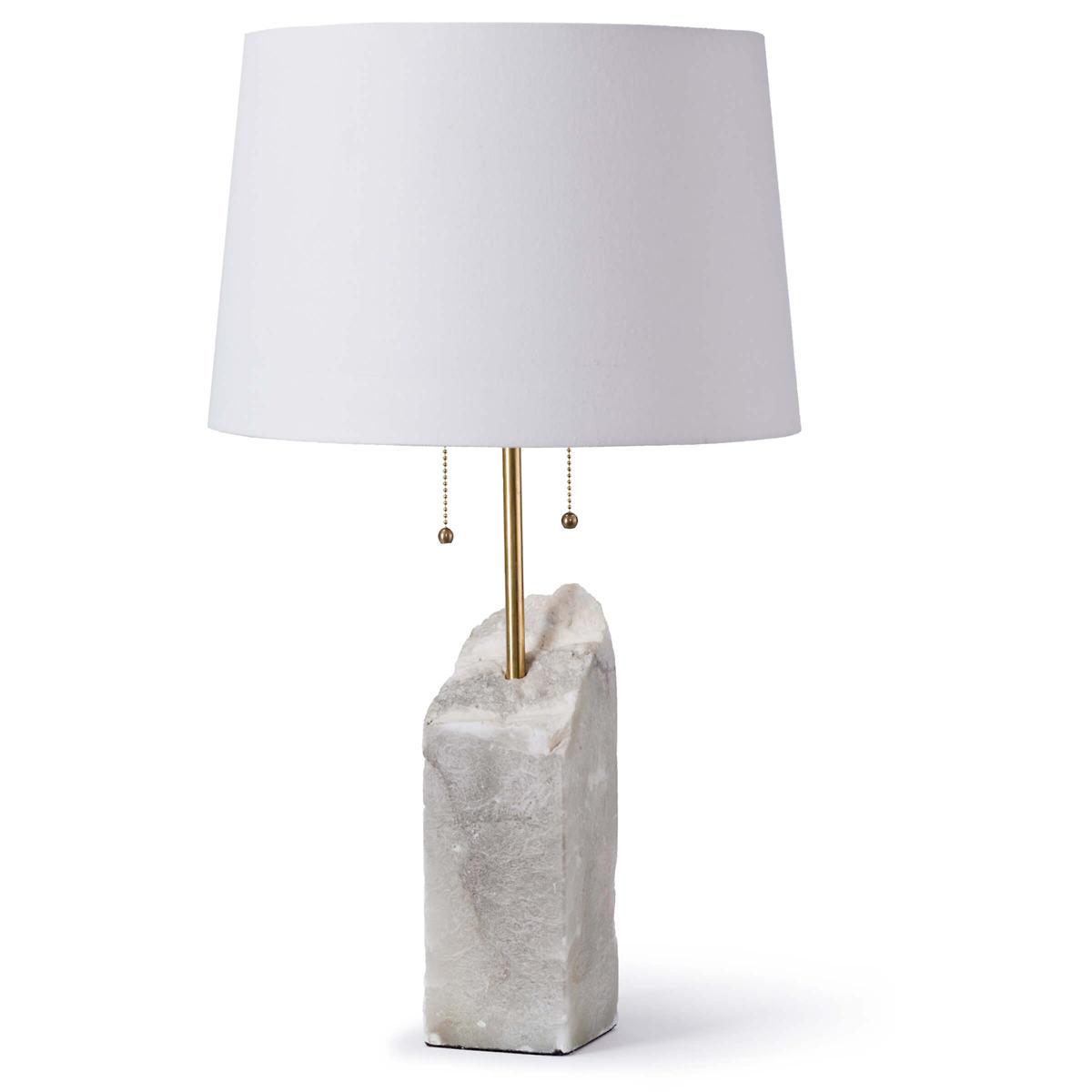 Edge Alabaster Lamp
