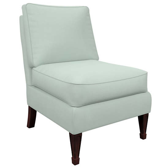 Estate Linen Powder Blue Eldorado Chair