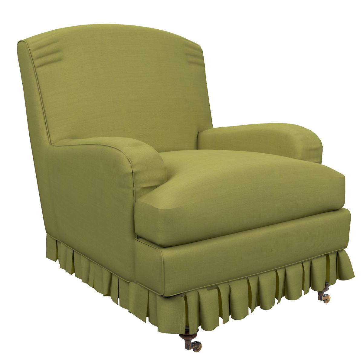 Estate Linen Green Ellis Chair