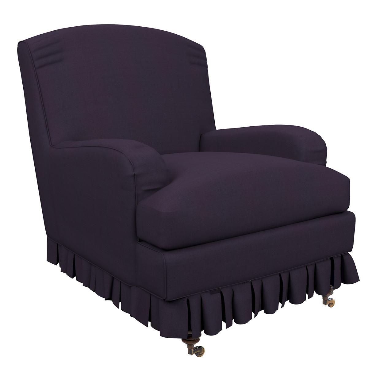 Estate Linen Indigo Ellis Chair