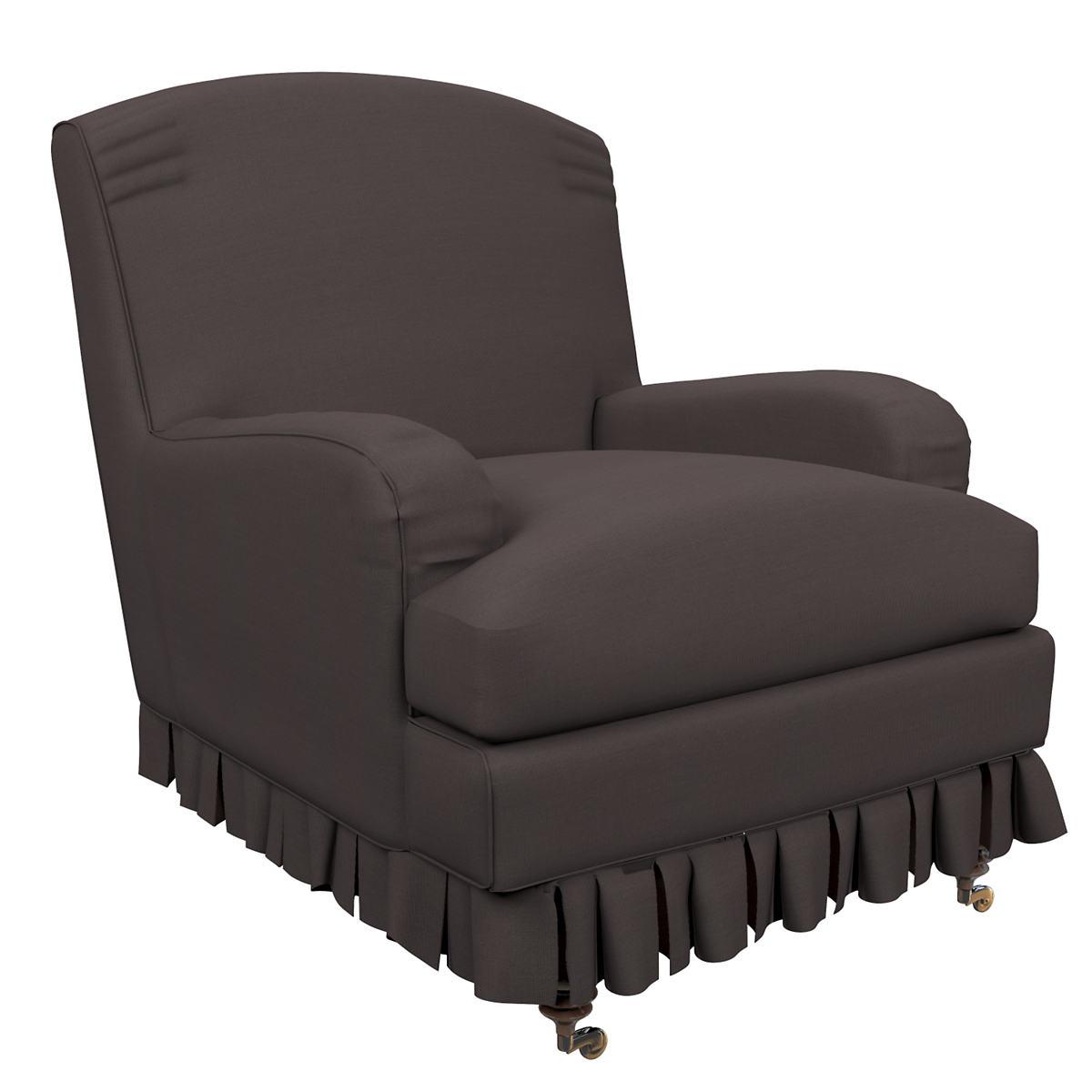 Estate Linen Shale Ellis Chair