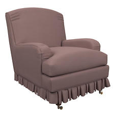 Estate Linen Zinc Ellis Chair