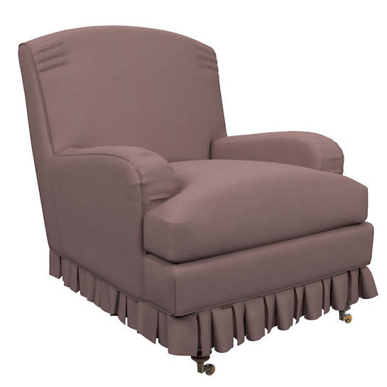 Estate Linen Zinc Ellis Chair