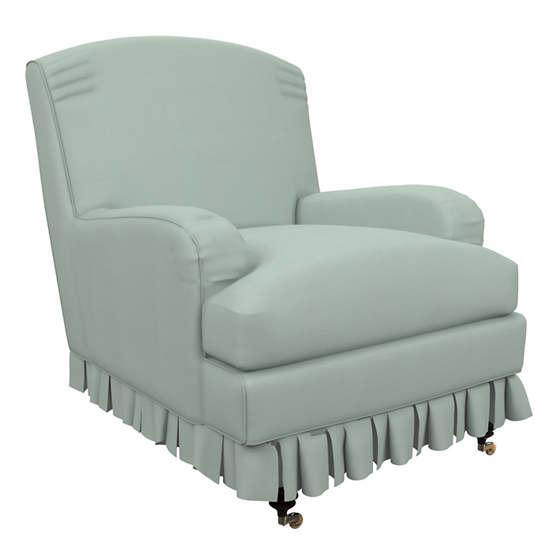 Estate Linen Powder Blue Ellis Chair