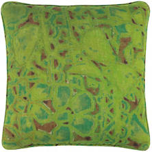 Elwood Linen Green Decorative Pillow