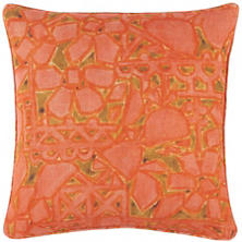 Elwood Linen Pink Decorative Pillow