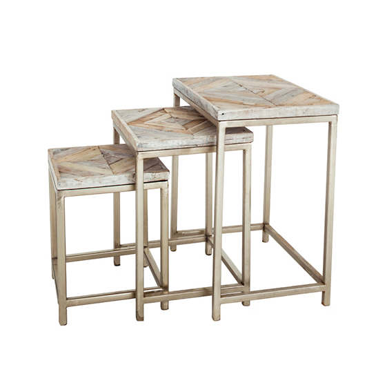 Embed Nesting Tables/Set Of 3