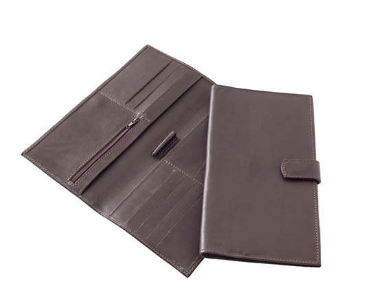 Emerson Chocolate Travel Wallet
