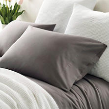 Essential Percale Grey Pillowcases