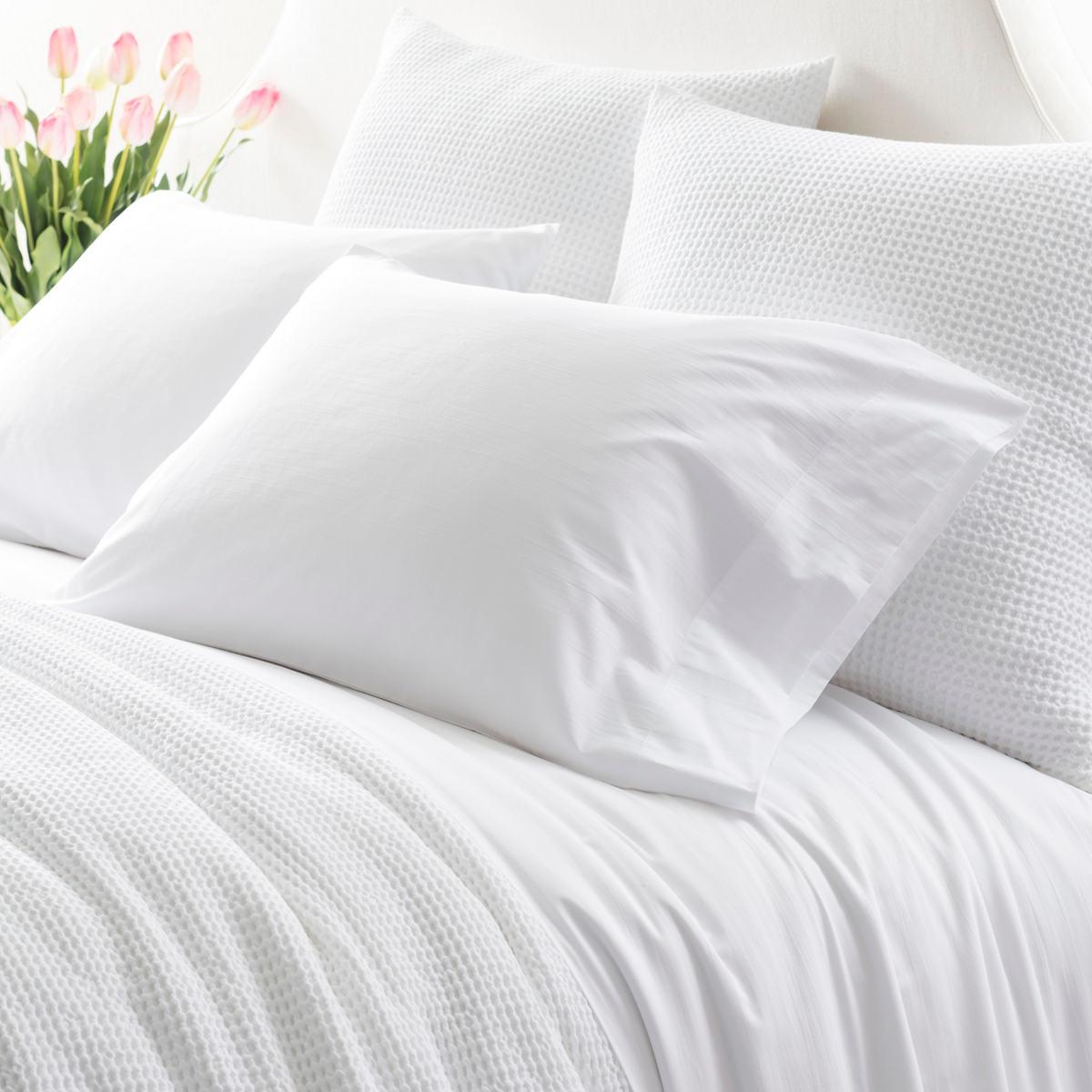 Essential Percale White Pillowcases
