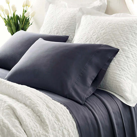 Essential Sateen Blue Sheet Set