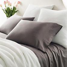Essential Sateen Grey Sheet Set