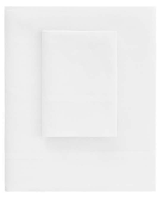 Essential Sateen White Flat Sheet