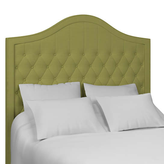Estate Linen Green Essex Headboard