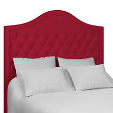 Estate Linen Red Essex Headboard