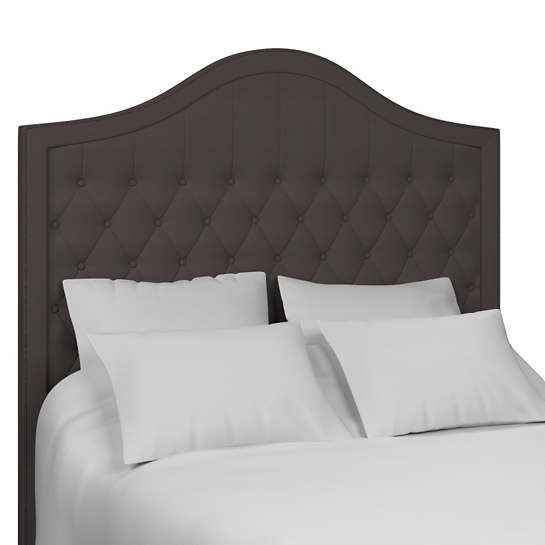 Estate Linen Shale Essex Headboard