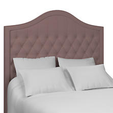 Estate Linen Zinc Essex Headboard