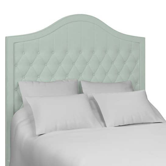 Estate Linen Powder Blue Essex Headboard