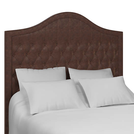 Mad Dog Coffee Essex Leather Headboard