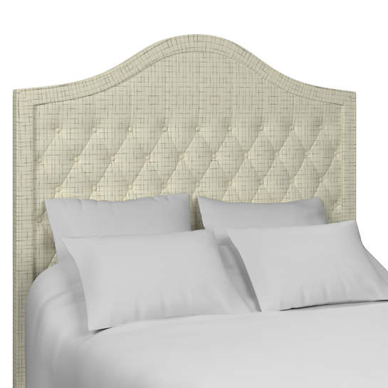 Nicholson Grey Essex Headboard