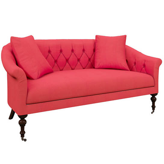 Estate Linen Azalea Becket Loveseat