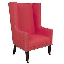 Estate Linen Azalea Neo-Wing Chair