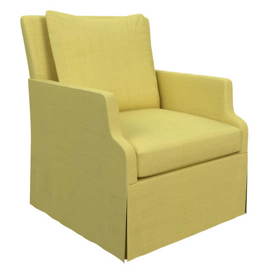 Estate Linen Citrus Aix Chair