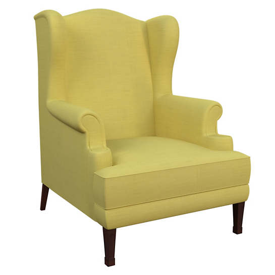 Estate Linen Citrus Lismore Chair