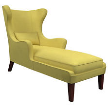 Estate Linen Citrus Mirage Tobacco Chaise