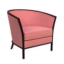 Estate Linen Coral Bijou Chair