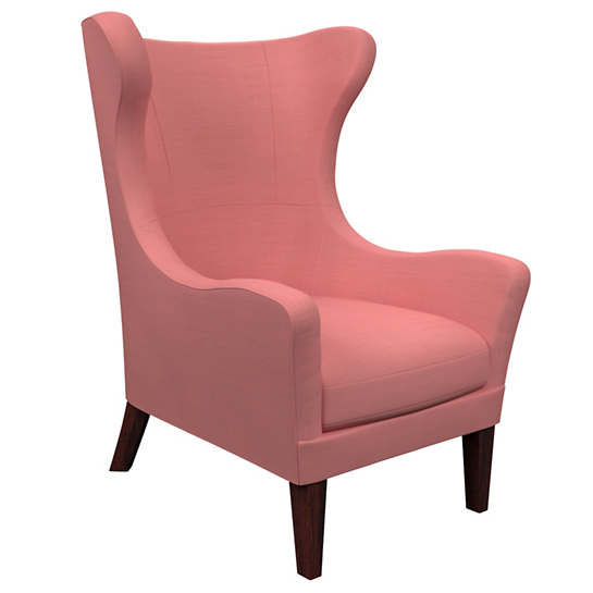 Estate Linen Coral Mirage Tobacco Chair