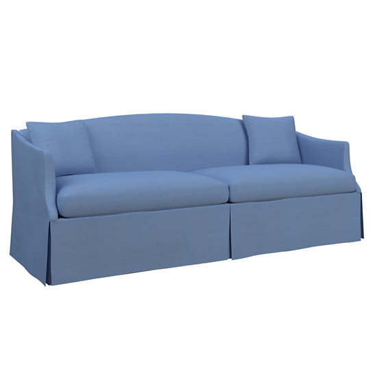 Estate Linen French Blue Avignon Sofa