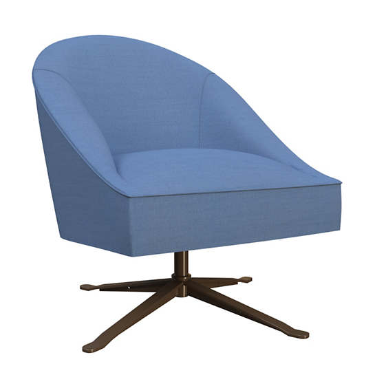 Estate Linen French Blue Embrace Chair