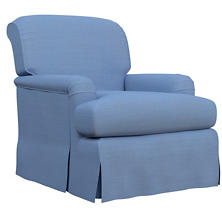 Estate Linen French Blue Longford Chair