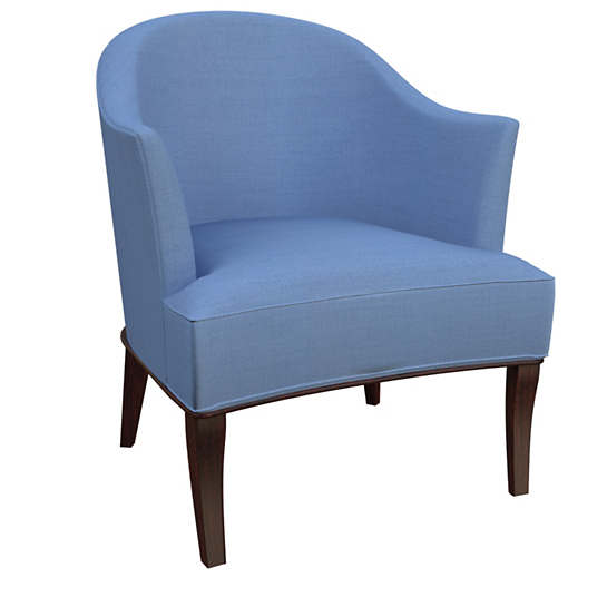 Estate Linen French Blue Lyon Chair