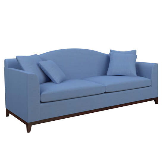 Estate Linen French Blue Marseille Sofa