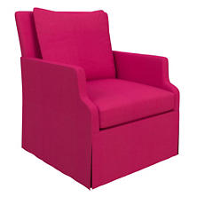 Estate Linen Fuchsia Aix Chair
