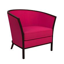 Estate Linen Fuchsia Bijou Chair
