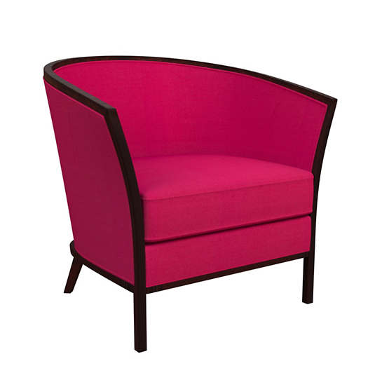 Estate Linen Fuchsia Bijou Chair